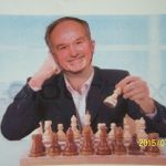 Dr. Roger Landry plays chess